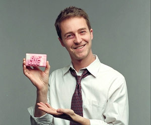 actor, edward norton, and fight club image