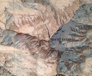 theme, map, and mountains image