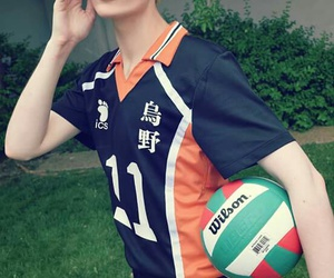 anime, anime boy, and voleibol image