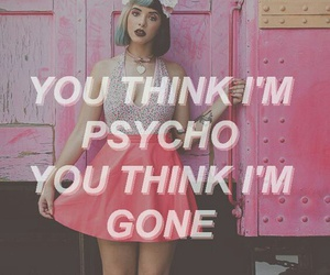 melanie martinez, mad hatter, and Psycho image