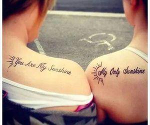 sunshine and tattoo image