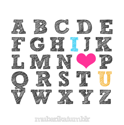 1234 Images 1234,abcd,block,cute,heart,i love you - inspiring picture on picship