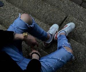 boy, grunge, and adidas image