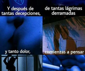 love, frases, and pain image