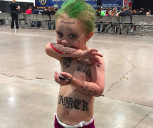 joker, suicide squad, and baby image
