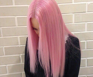 girl, pink, and goals image