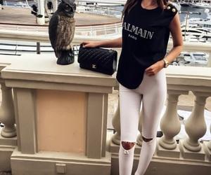 fashion, girl, and Balmain image