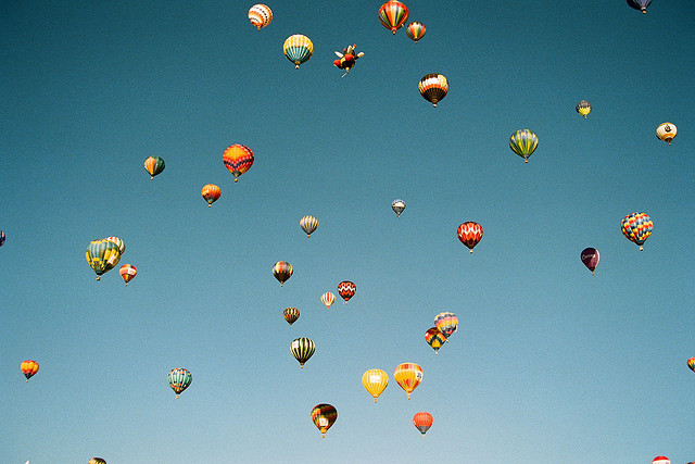 35mm, colorful, and air balloons image
