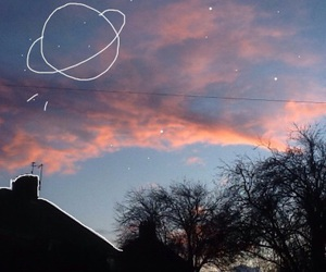 sky and planet image