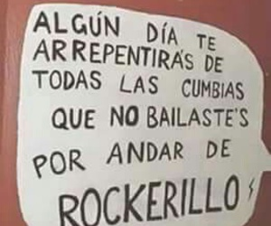 rock, bailar, and cumbia image