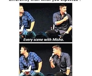 supernatural, castiel, and jensenackles image