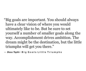 quotes, goals, and Dream image