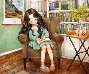 book, art, and wallpaper image