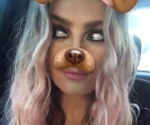perrie edwards, icon, and snapchat image