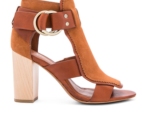 brown, sandals, and shoes image