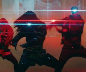 dance, fashion, and futuristic image