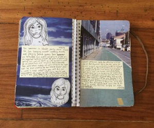 art journal, journal, and notebook image