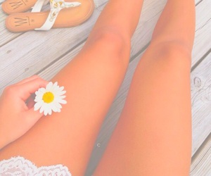 bright, flip flops, and summer image