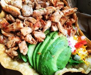 avocado, Chicken, and delicious image