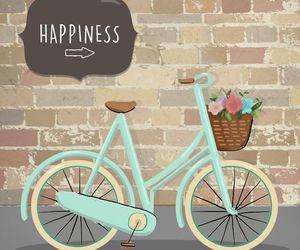 wallpaper, happiness, and bike image