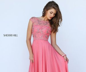 sherri hill 50132 and evening gown beads image