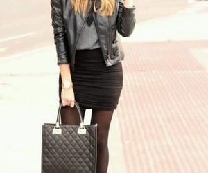 chic, outfit, and school image