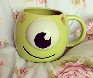 cup, monster, and green image