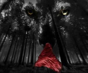 fairytales, fantasy, and little red riding hood image