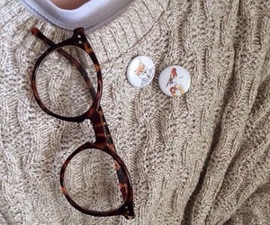 glasses, indie, and aesthetic image