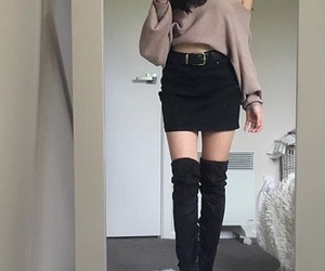 choker, outfits, and ootd image