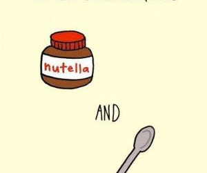 nutella and nuttel image