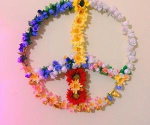 flor, peace, and positividade image