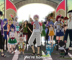fairy tail, anime, and guild image