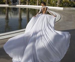 2016, bride, and wedding dress image