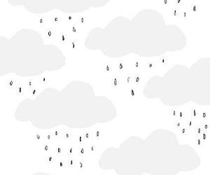 wallpaper, pattern, and rain image
