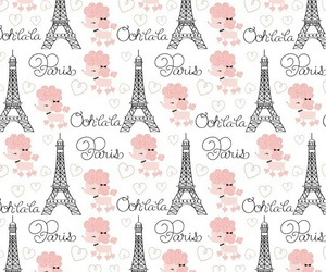 paris, background, and pink image