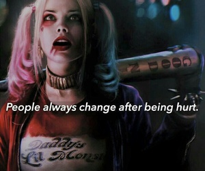 suicide squad, harley quinn, and hurt image