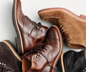 boots, men, and fashion image