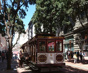 city, san francisco, and travelling image