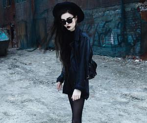 alternative, dark, and fashion image