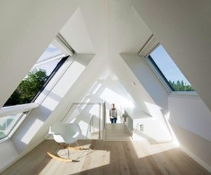 white, room, and house image