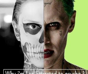 joker, tate, and suicide squad image