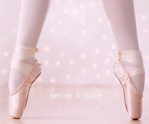 ballet, peace, and dance image