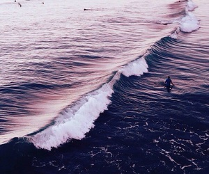 purple, theme, and ocean image
