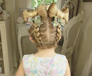 baby, beautiful, and hairstyle image