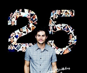 dylan o'brien, happy birthday, and teen wolf image