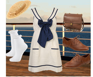 bags, oxford shoes, and socks image