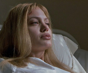 girl interrupted, Angelina Jolie, and movie image