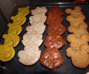 cookie, mickey, and pooh image
