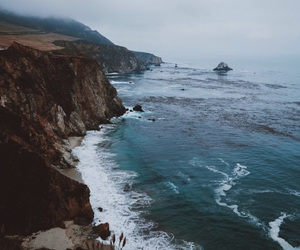 landscape, ocean, and travel image